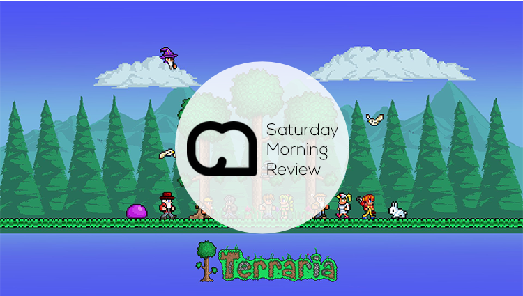Terraria: Dig, Fight, Build! [Saturday Morning Review GIVEAWAY!]