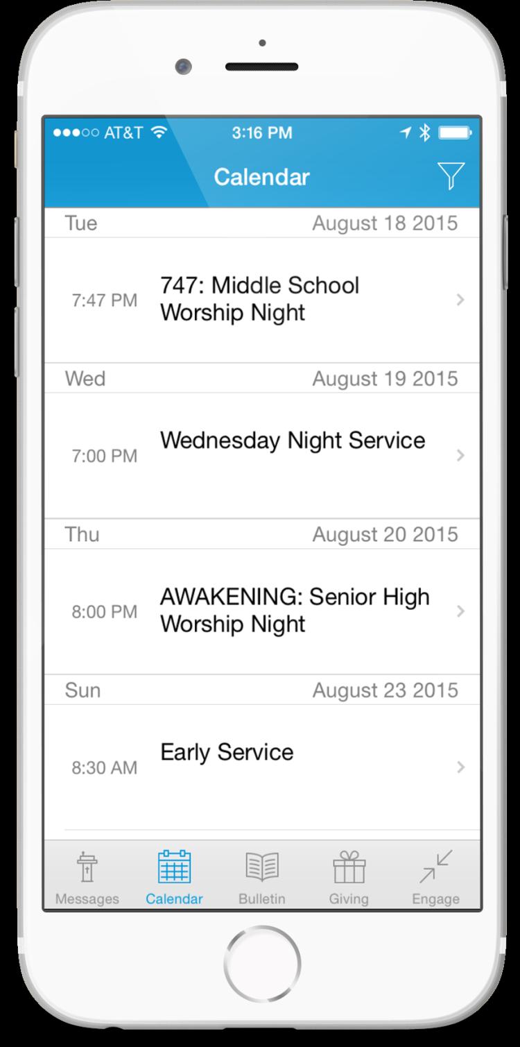 events-screen