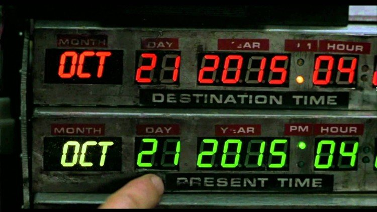 Today Is the Day - Back to the Future - Image