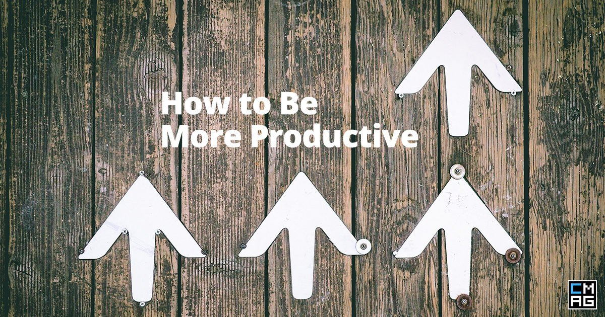 How to Be More Productive [Infographic]