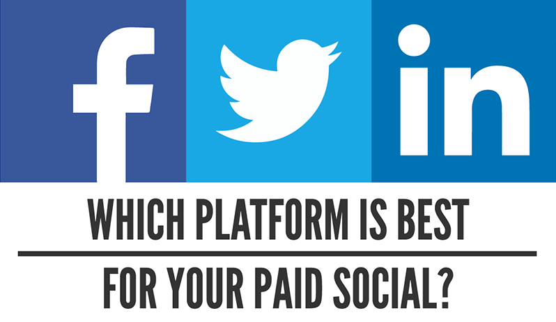Which Platform Is Best For Your Paid Social? [Infographic]