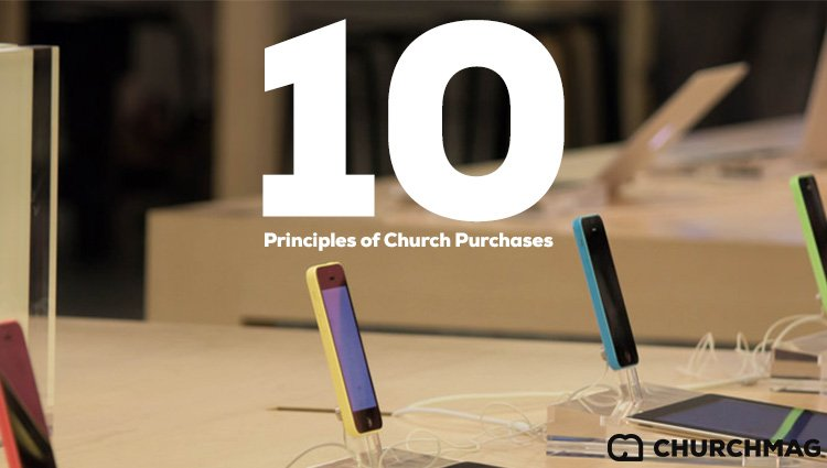 10 Principles of Church Purchases