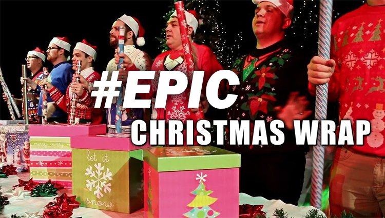 """Forest Park's #EPIC """"Christmas Wrap"""" Music Video"""