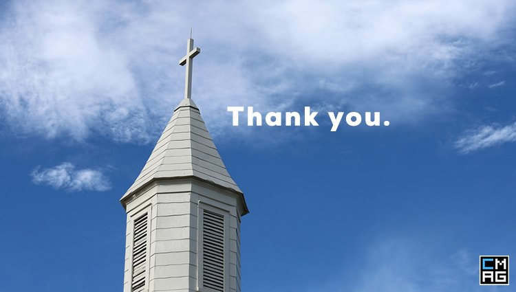 "11 Ways to Say ""Thank You"" to Your Church"