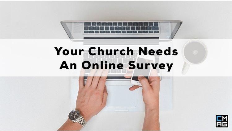 Your Church Needs An Online Survey