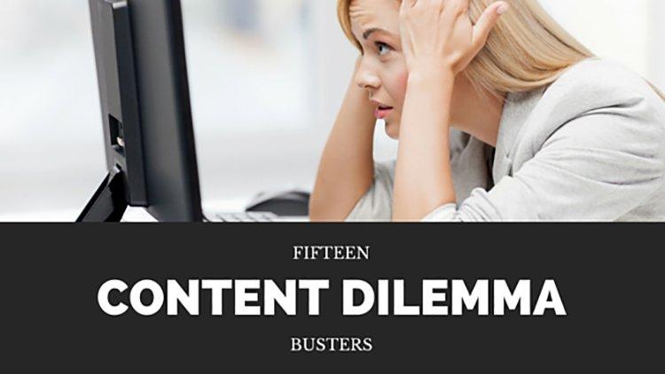 15 Church Blog Content Dilemma Busters