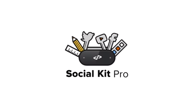 Social Kit Pro: Photoshop Social Media Templates