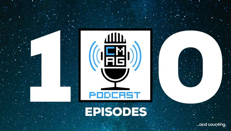 Here Comes Our 100th Podcast Episode!