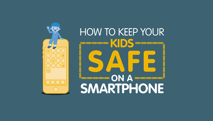 How to Keep Your Kids Safe Digitally [Infographic]