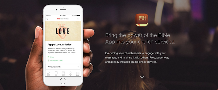 YouVersion Events: It's (Finally) Alive! - ChurchMag