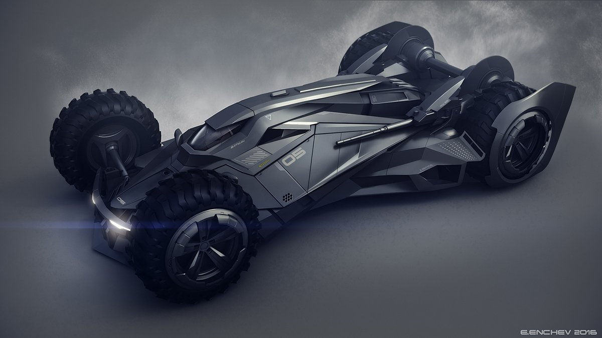 Awesome Batmobile Concept Design [Images]