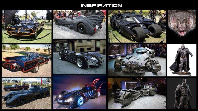 Awesome Batmobile Concept Design