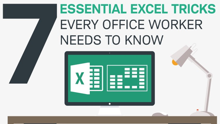 7 excel tricks you need to know infographic churchmag