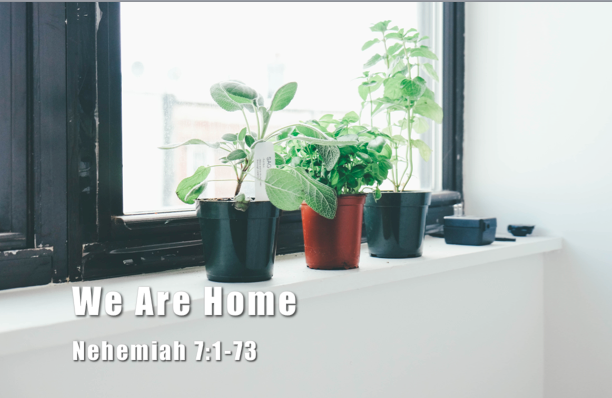 Rebuilding 12: We Are Home [Devotional]