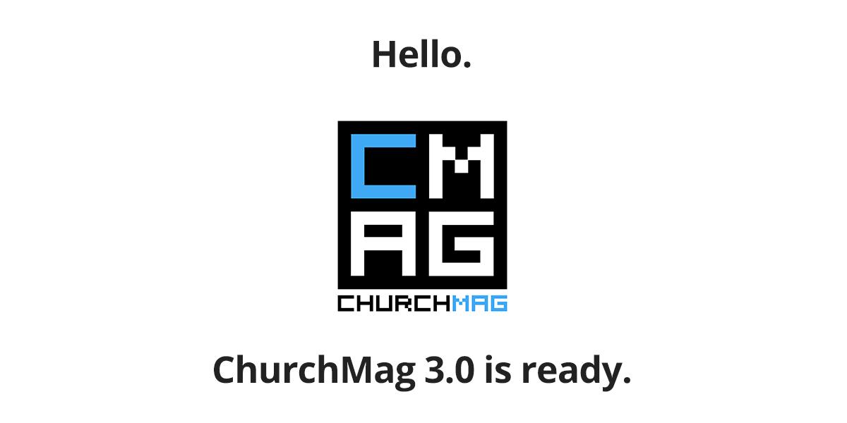 ChurchMag 3.0