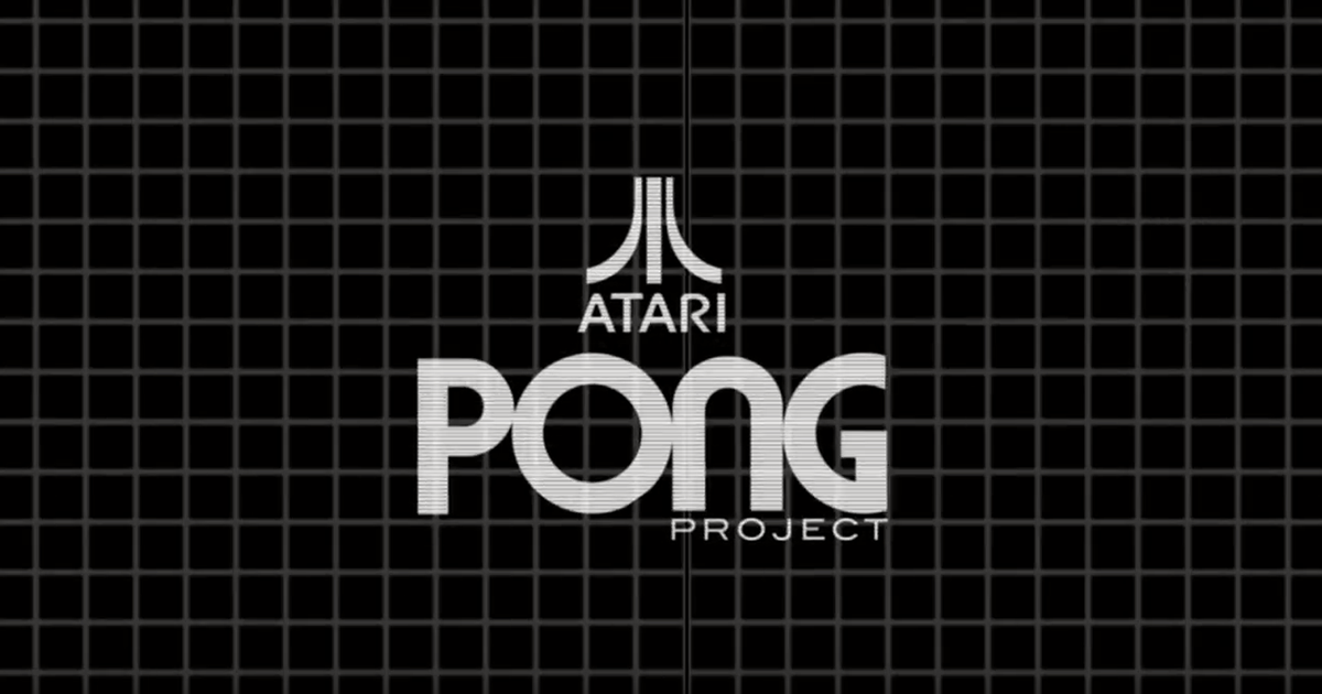 Real-Life PONG Arcade Table