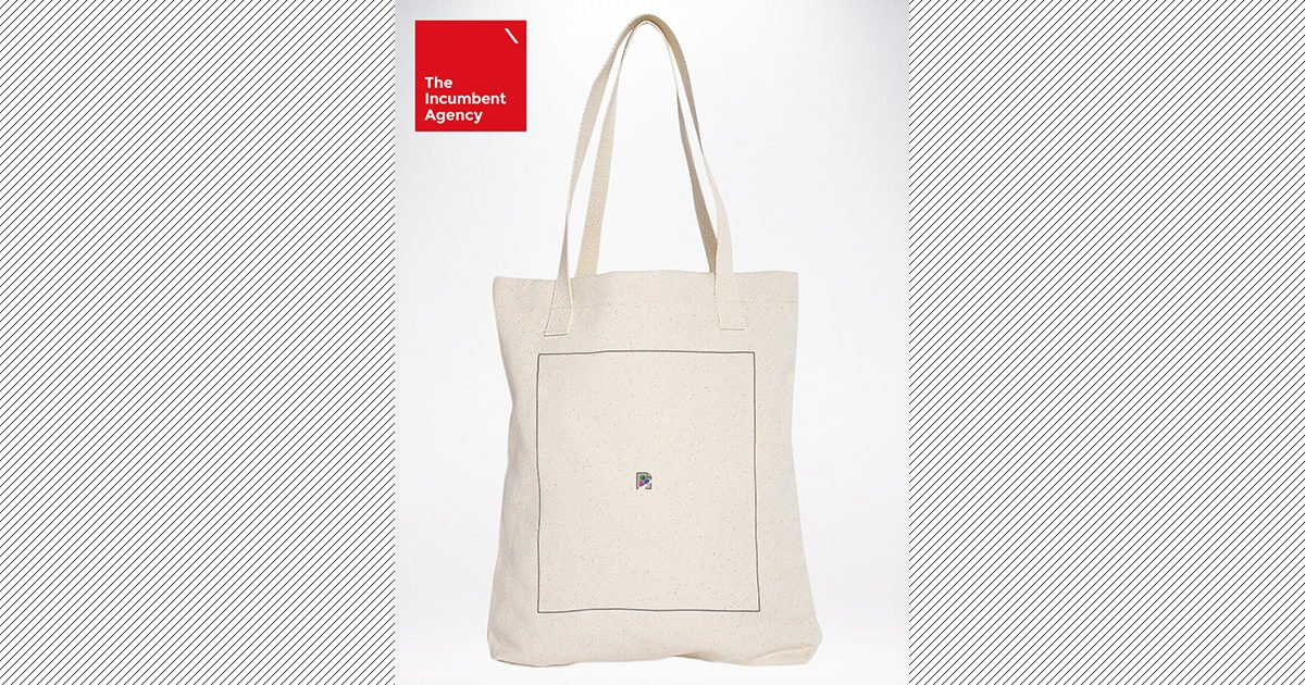 Tots Awesome: Broken Image Tote Bag