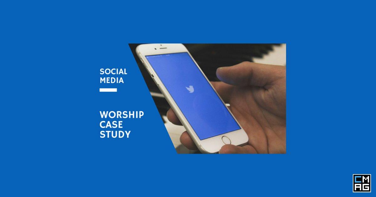 Social Media: A Worship Case Study