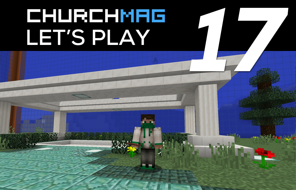 Let's Play 17: Laying the Foundation of The Underwater City