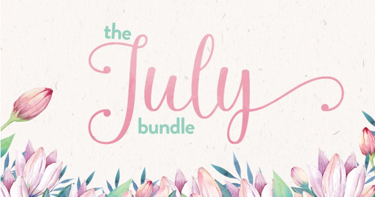 The Hungry JPEG: The July Bundle