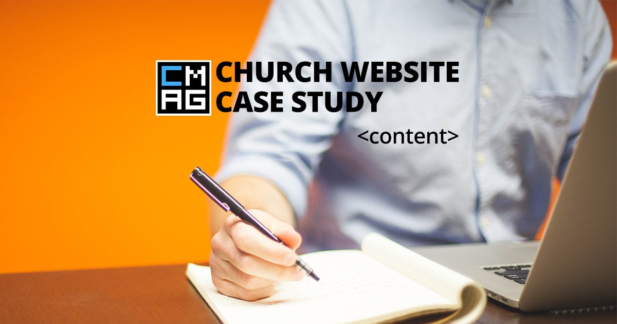 Church Website Series: Getting Content