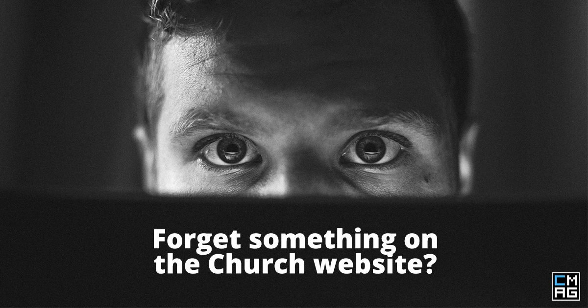 Vital Information to Include on Your Church Website