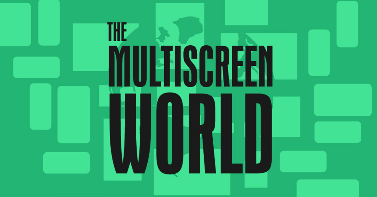 The Multiscreen World [Infographic]