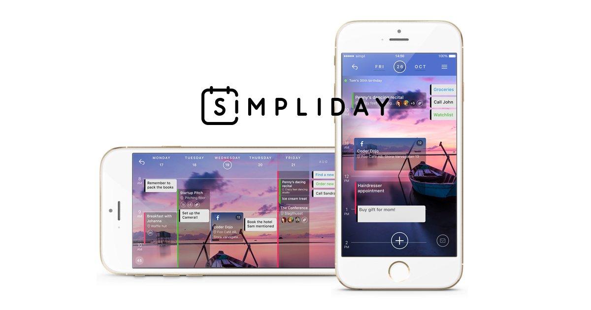 Simpliday: A New Calendar App for iOS