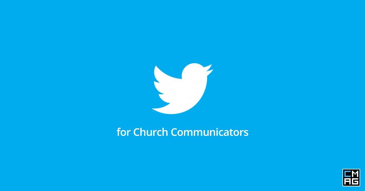 5 Tweet Chats for Church Communicators