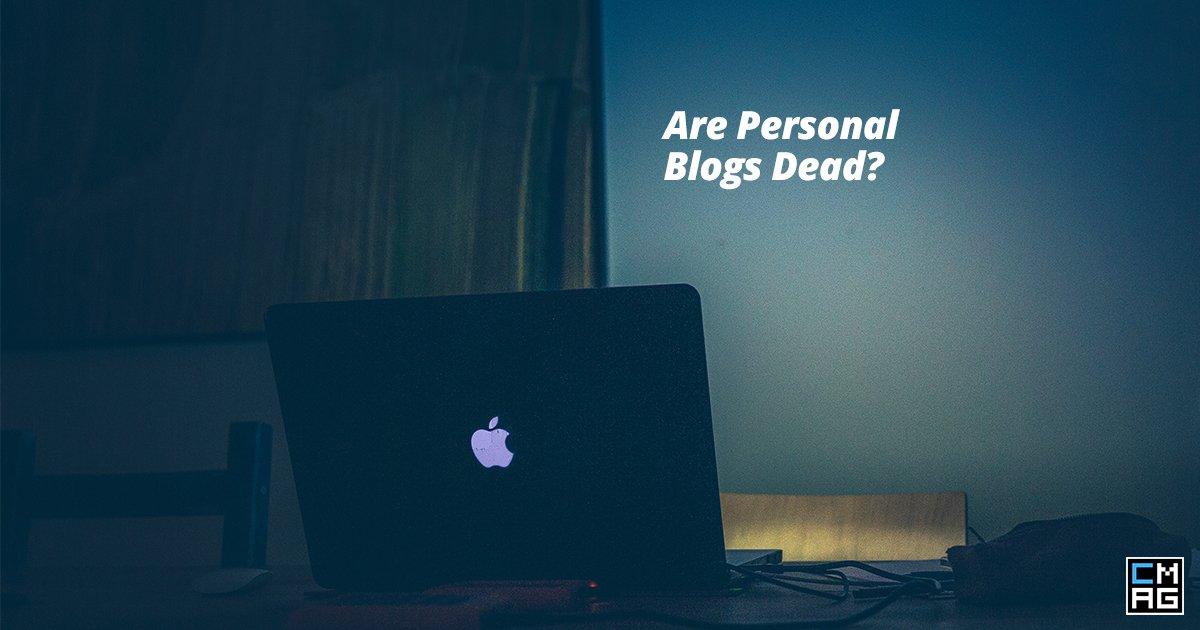 Are Personal Blogs Dead?
