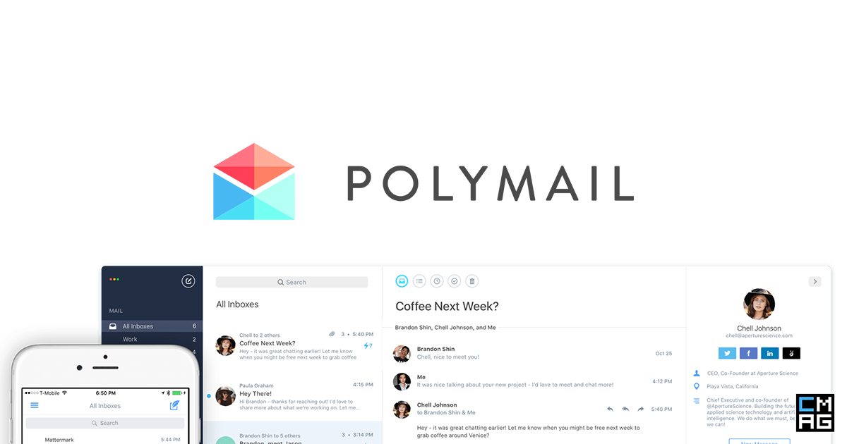 Polymail: A Beautiful and Powerful iOS / MacOS Mail Client