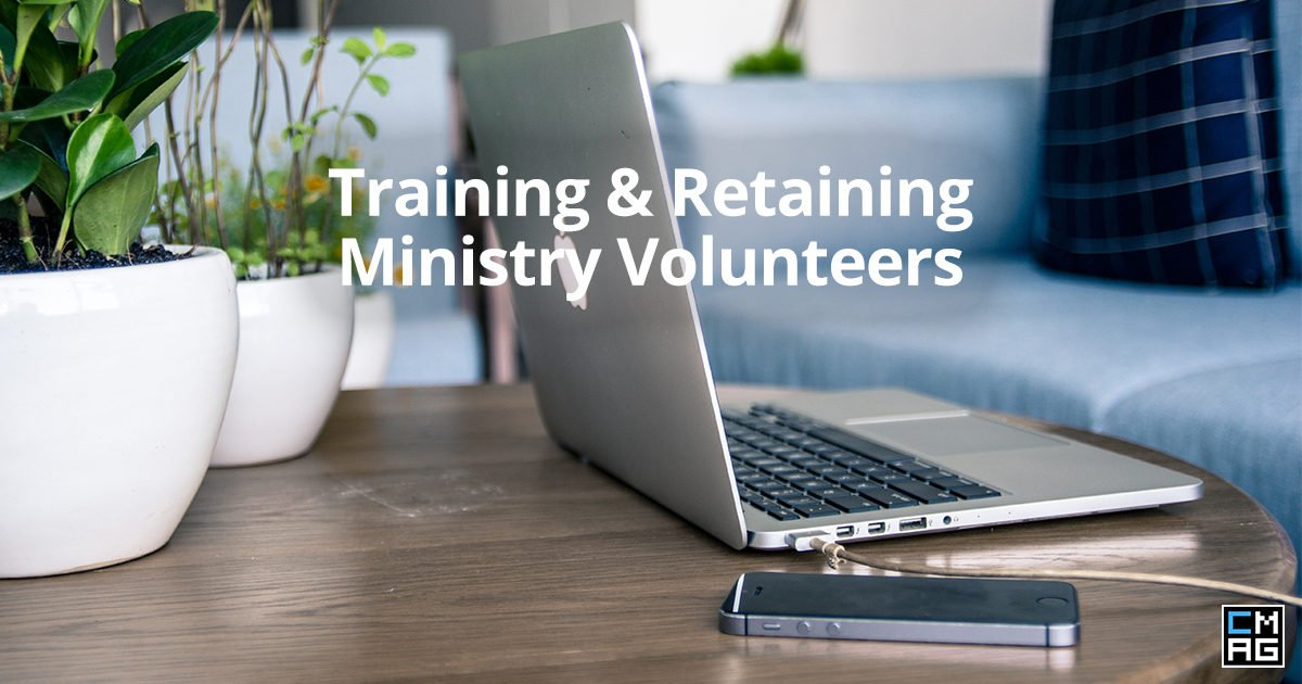 Training and Retaining Ministry Volunteers: A Tech Solution