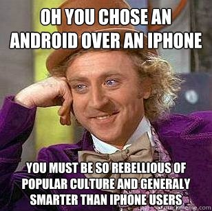 android iphone meme