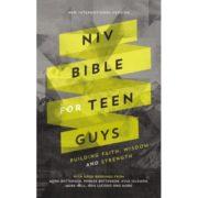 NIV Bible for Teen Guys Cover