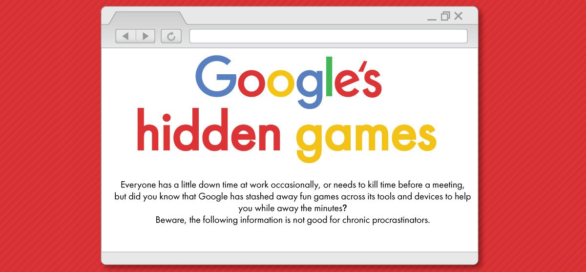 Google's Hidden Games [Infographic]