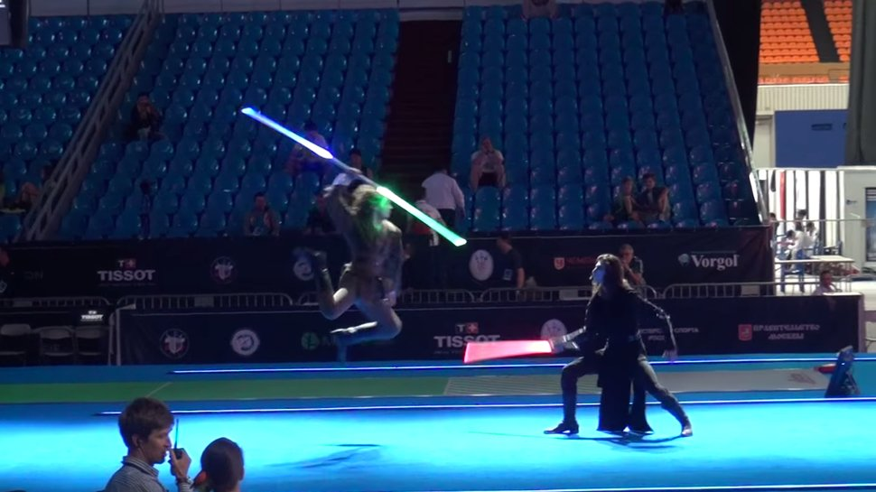 Real Life Star Wars Duel Competitions [Video]
