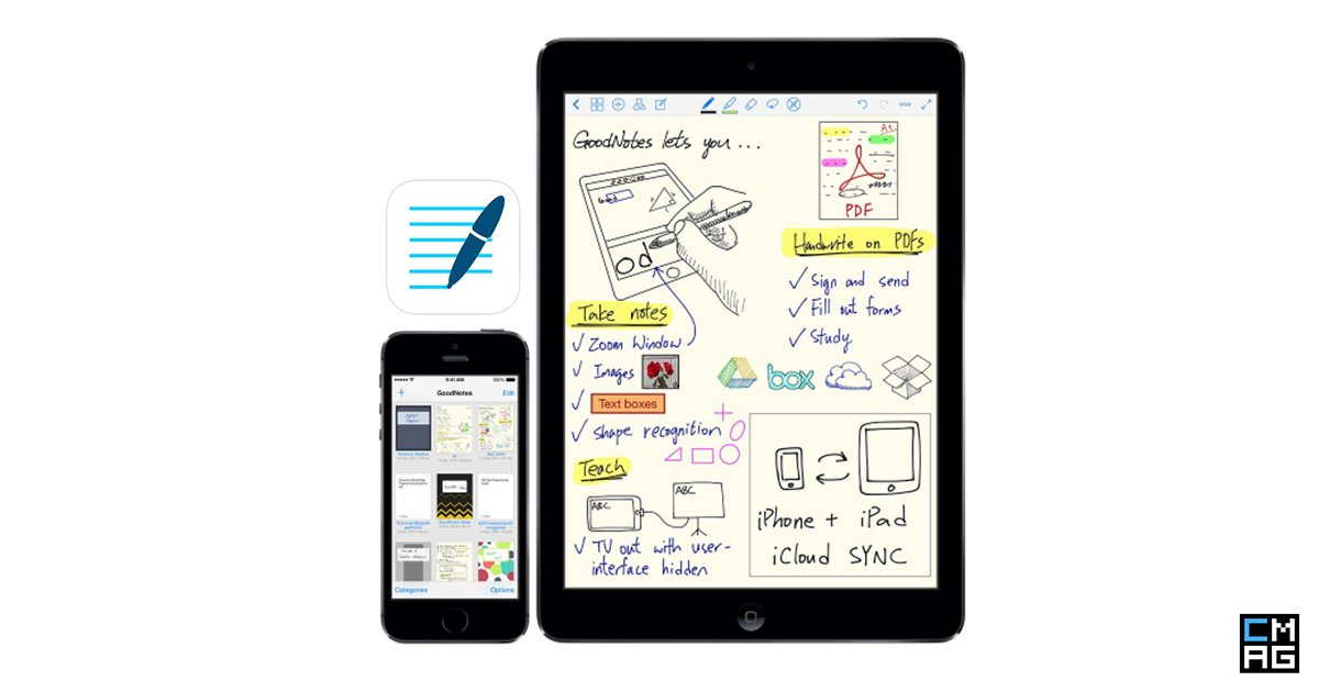 GoodNotes: A Good Notetaking app for iOS