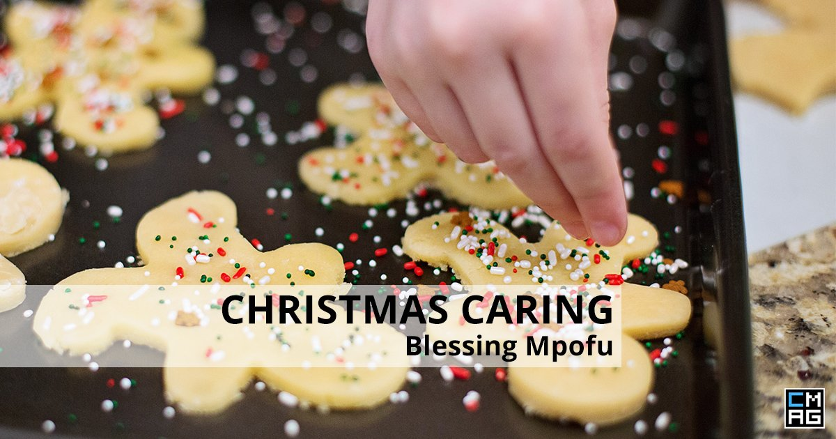 A Season of Christmas Caring: Blessing Mpofu