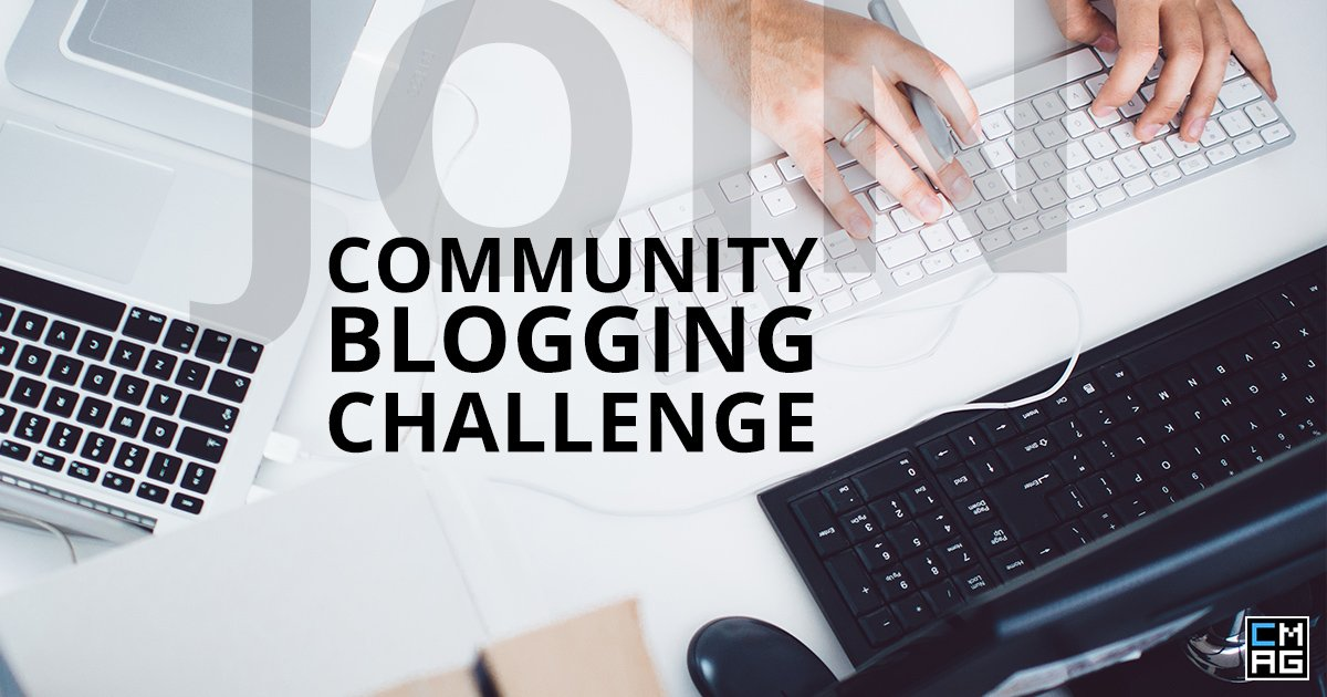 Join Our Community Blogging Challenge!