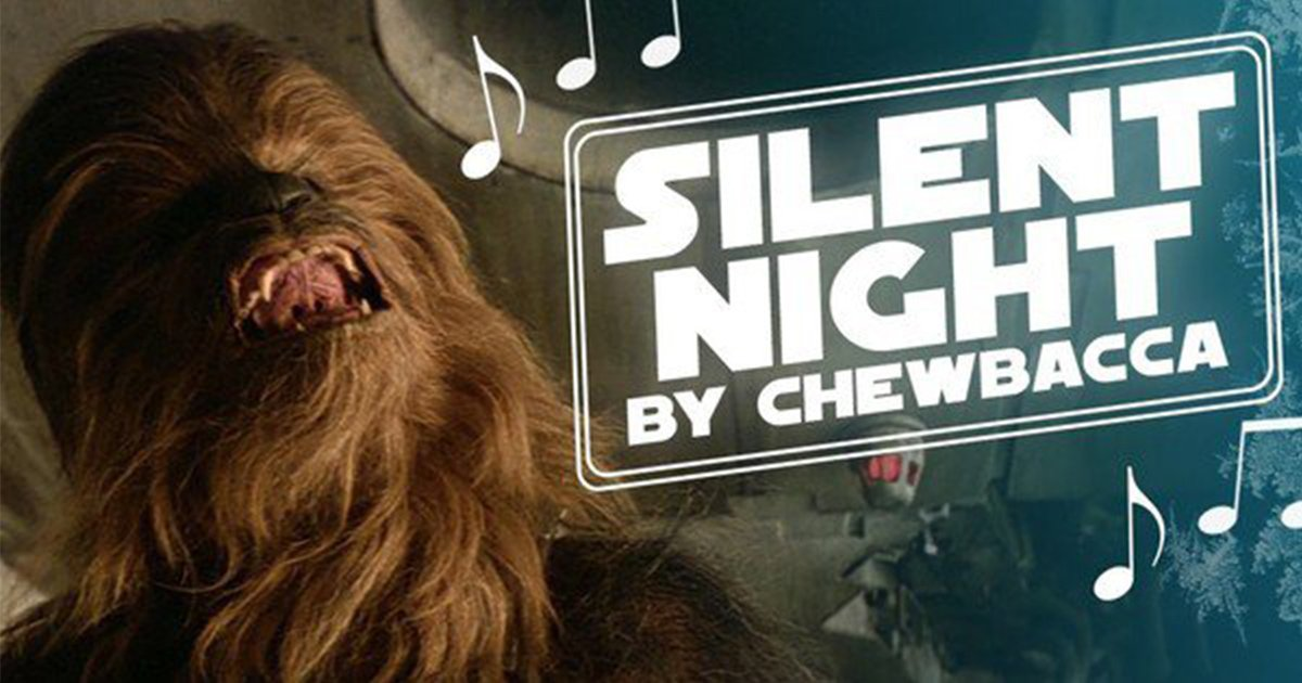 Silent Night as Sung By Chewbacca [Video]
