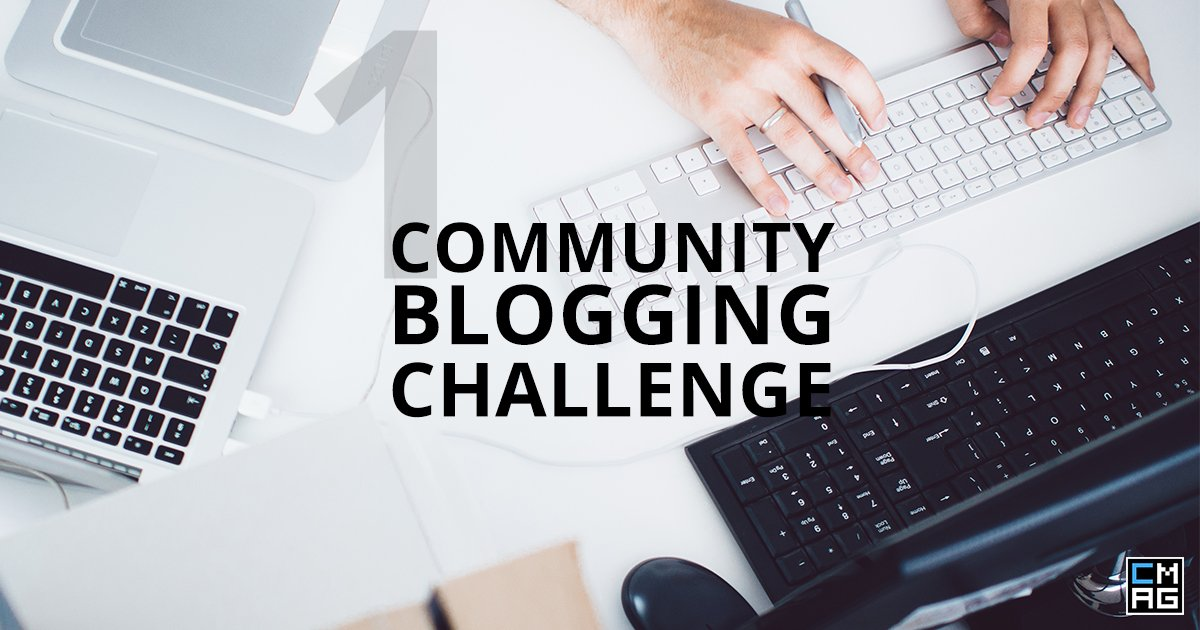 Community Blogging Challenge #1 [Videos]