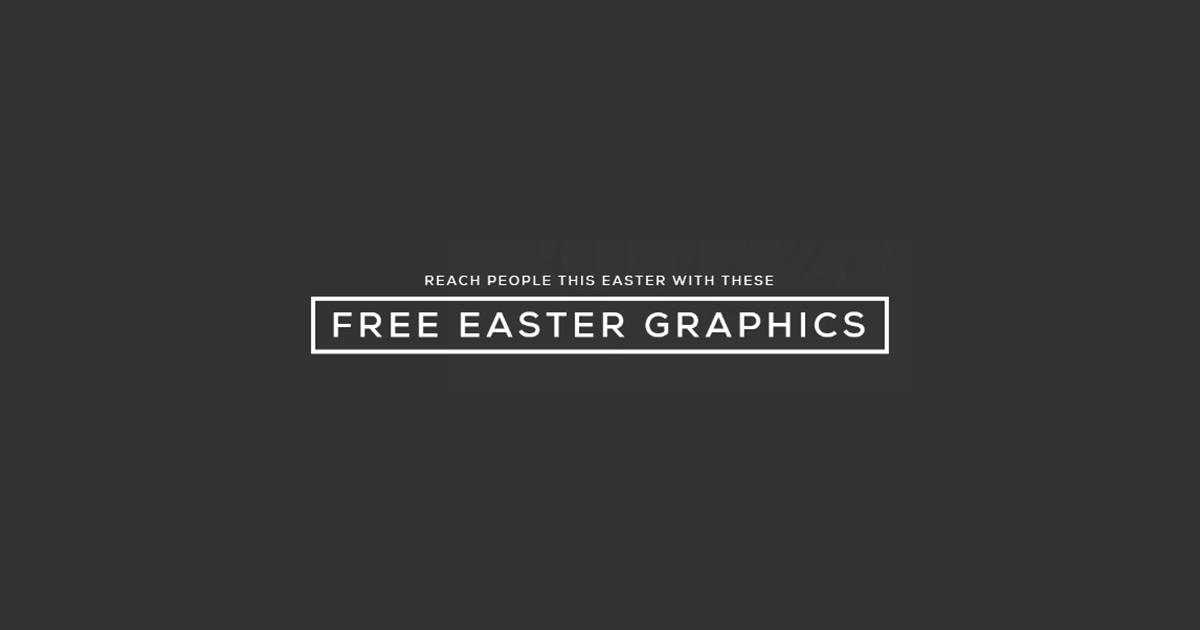 Free Easter Graphics from ArtSpeak