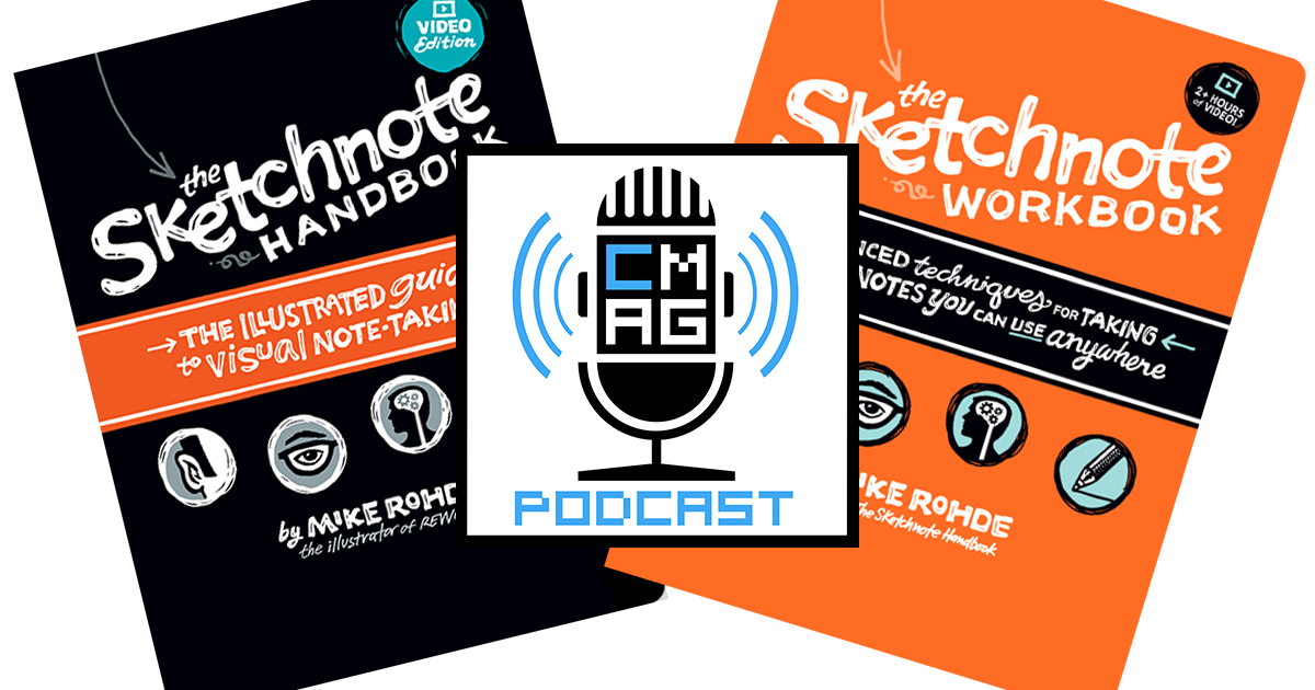 Mike Rohde Talks Sketchnote [Podcast #148]