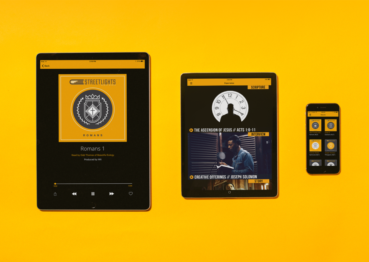 Streetlights Audio Bible App