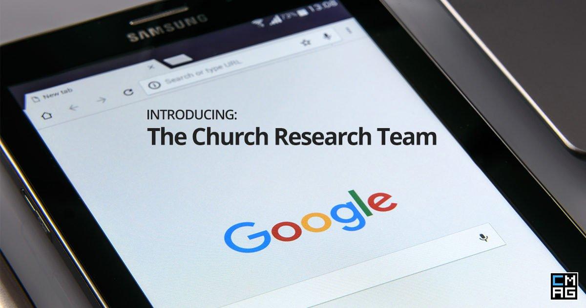 Church Techs as the Church Research Team