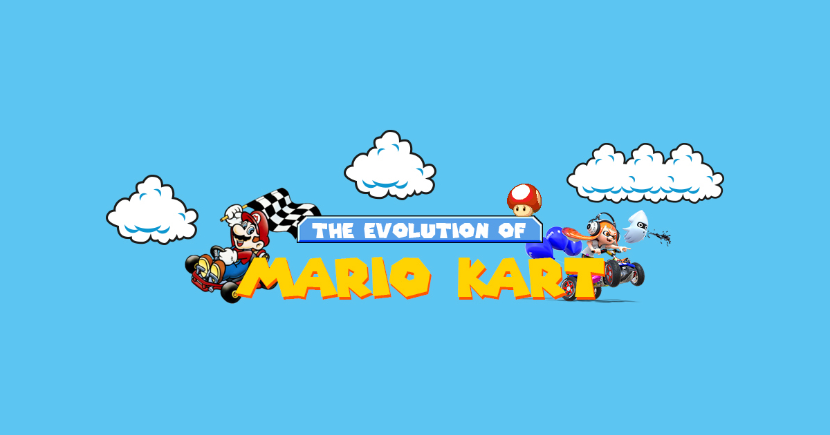 The Evolution of Mario Kart [Infographic]