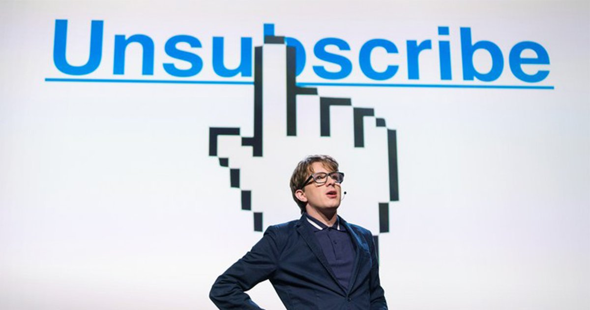 The Agony of Unsubscribing [Video]