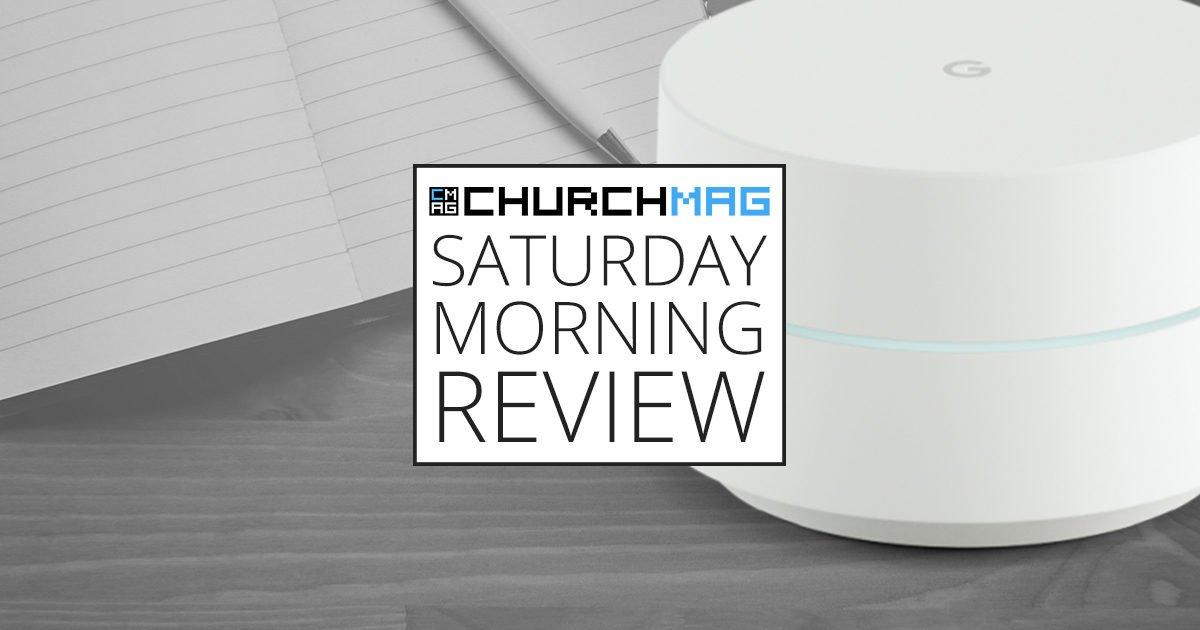 Google WiFi [Saturday Morning Review]