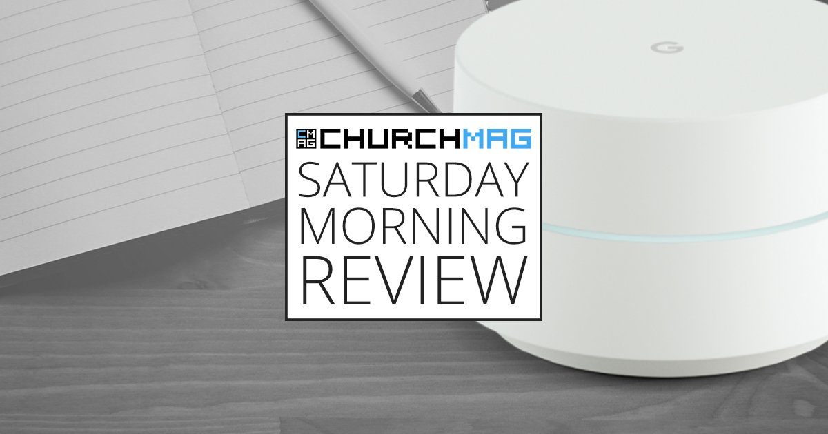 Google WiFi [Saturday Morning Review]