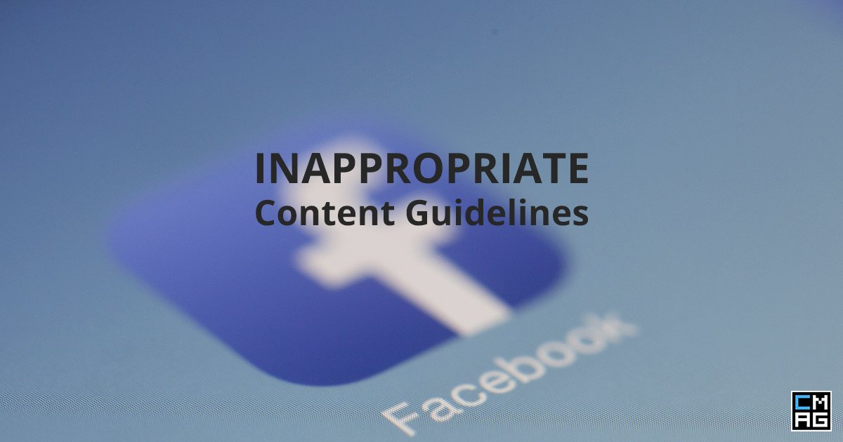 Facebook's Guidelines on Inappropriate Content
